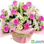 ดอกไม้สวยๆ อวยพรวันเกิด แบบที่ (3)