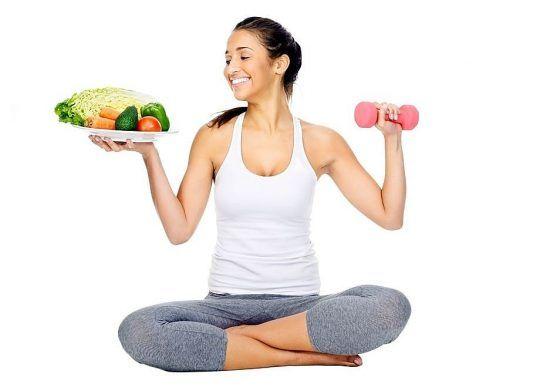 ออกกำลังกายควบคู่ไปกับการทานผักใบเขียวและผลไม้เยอะๆ